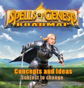 Spells of genesis roadmap