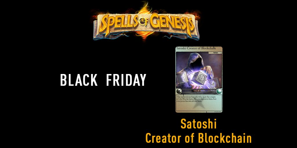 Satoshi blockchain card spells of genesis