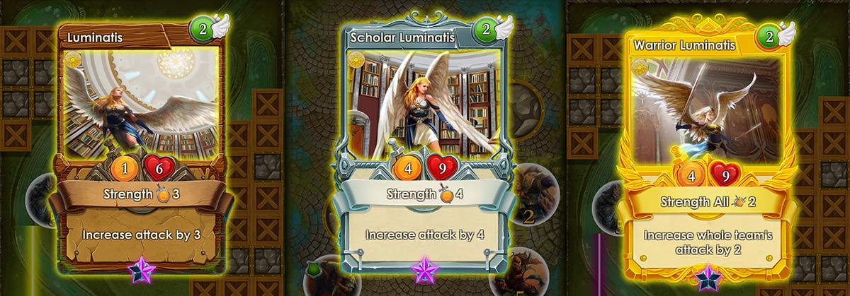 Luminatis cards spells of genesis
