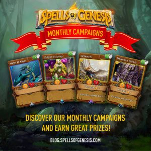 monthly campaigns in spells of genesis