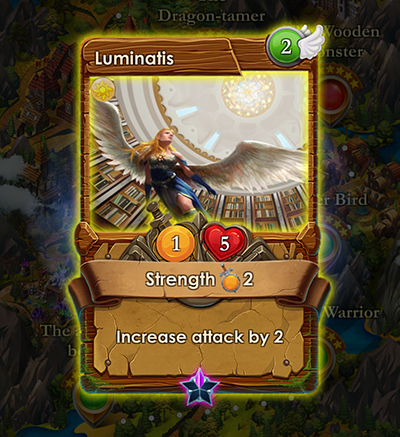 spells of genesis Luminatis card