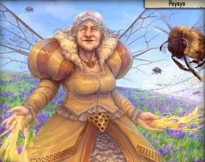 mother bee spells of genesis card
